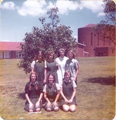 1974 Outside St Columbans